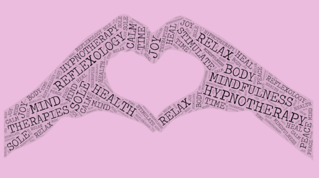 Home. large pink word art